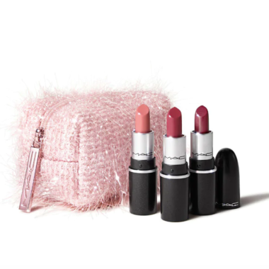 mac cosmetics holiday fireworked lip set