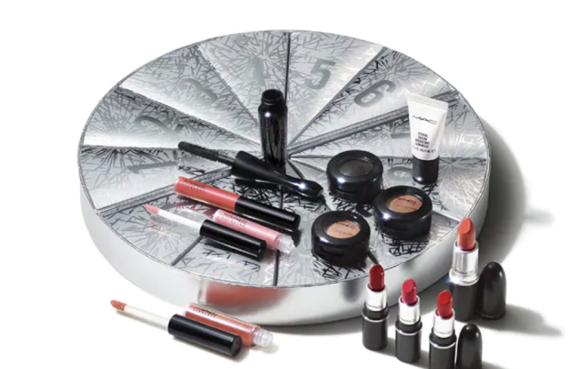 mac cosmetics holiday advent calendar