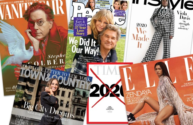Which magazines reduced frequency in 2020?