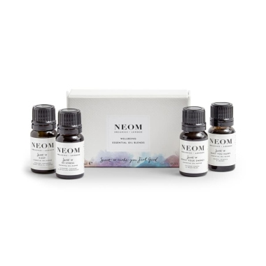 neom Wellbeing Essential Oil Blends Set