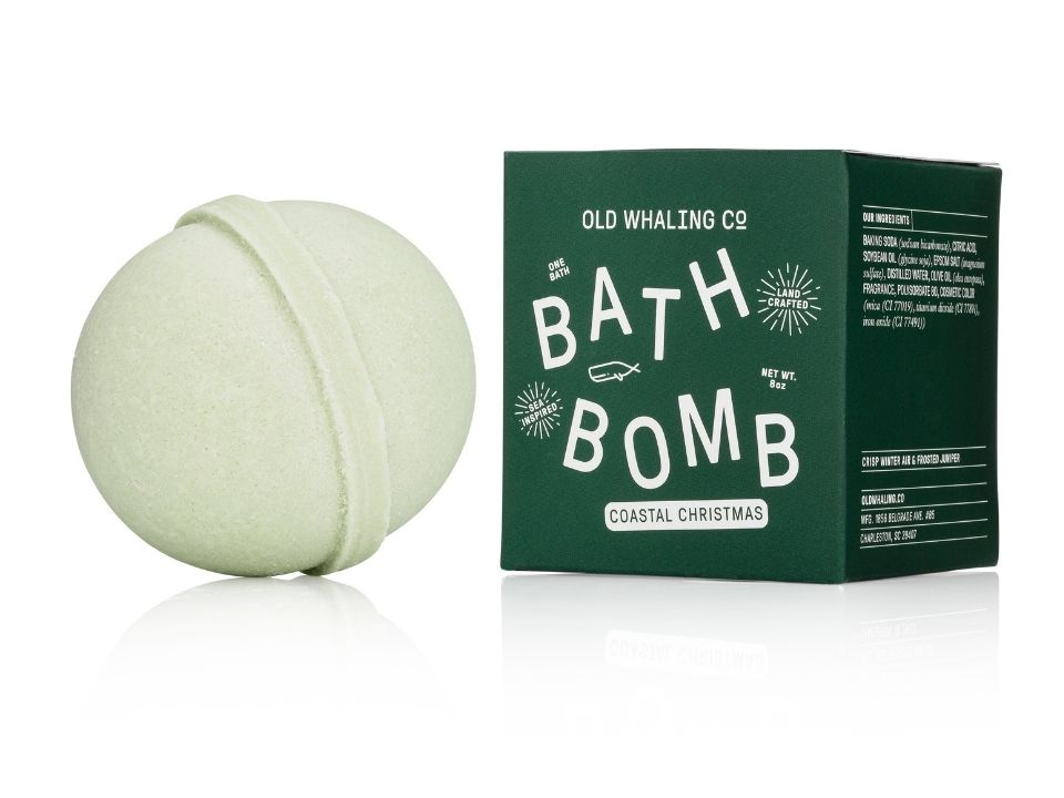Christmas Gifts 2020 Old Whaling Co's Christmas Bath Bomb