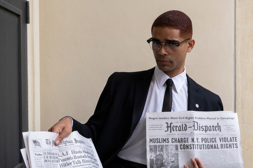 Kingsley Ben-Adir in a still from