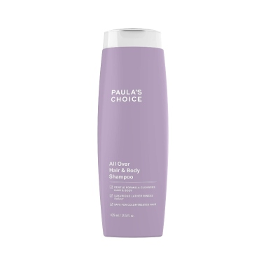 paulas choice, best fragrance free shampoos