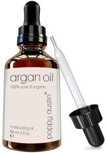 poppy austin, best argan oil hair products