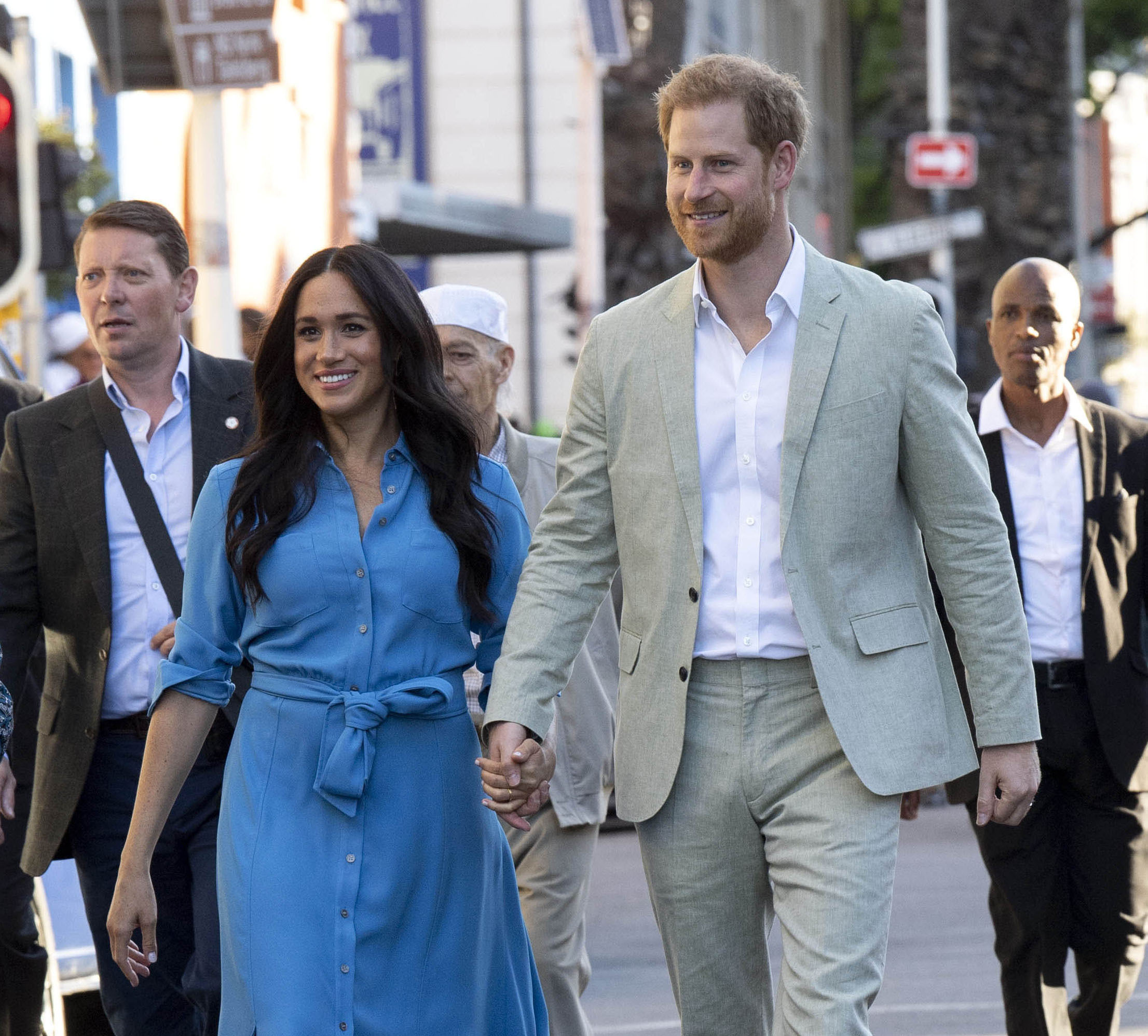 Meghan Markle, Prince Harry First Podcast Episode