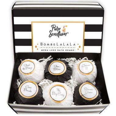 pure scentum, best bath bomb gift sets
