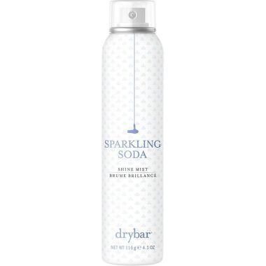 sparkling soda shine mist, best drybar hair products