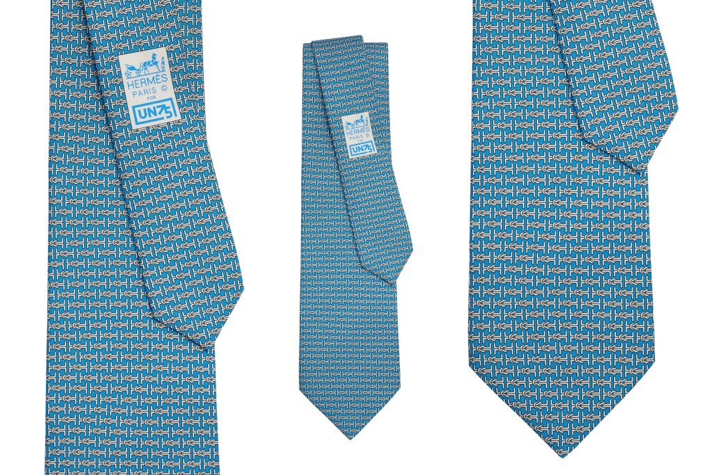 wwd.com/fashion-news/fashion-scoops/hermes-to-sell-special-united-nations-tie-1234600220/