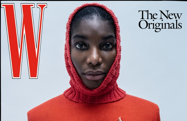 W's latest print issue.