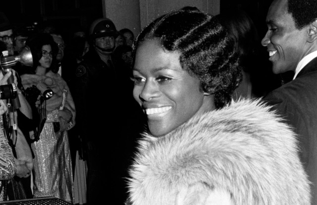 Cicely Tyson attends the 45th Academy Awards in Los Angeles, California, on March 27, 1973.