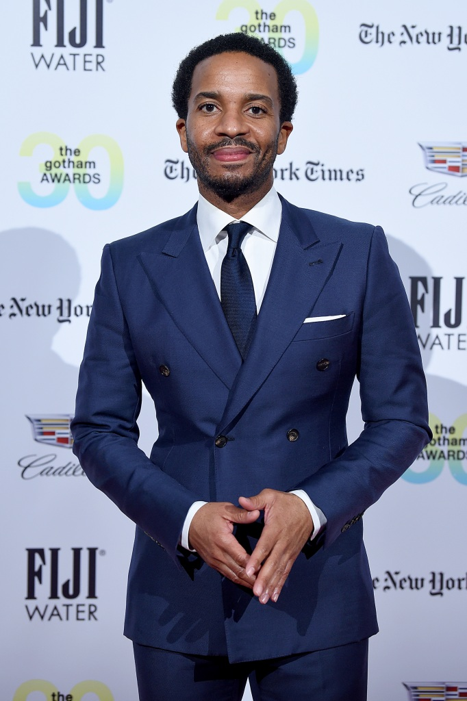 Andre Holland at the 30th Annual IFP Gotham Awards at Cipriani Wall Street.
