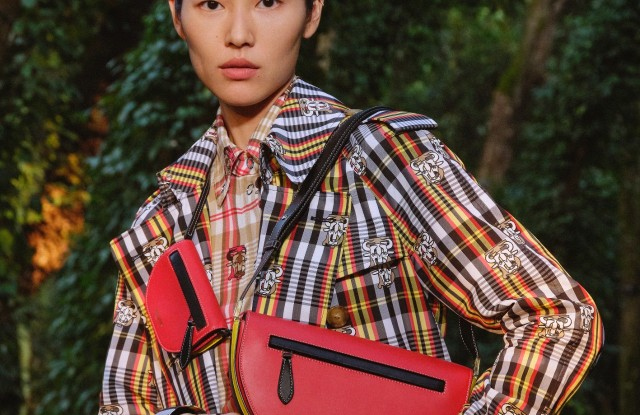 Burberry Chinese New Year Campaign featuring Liu Wen