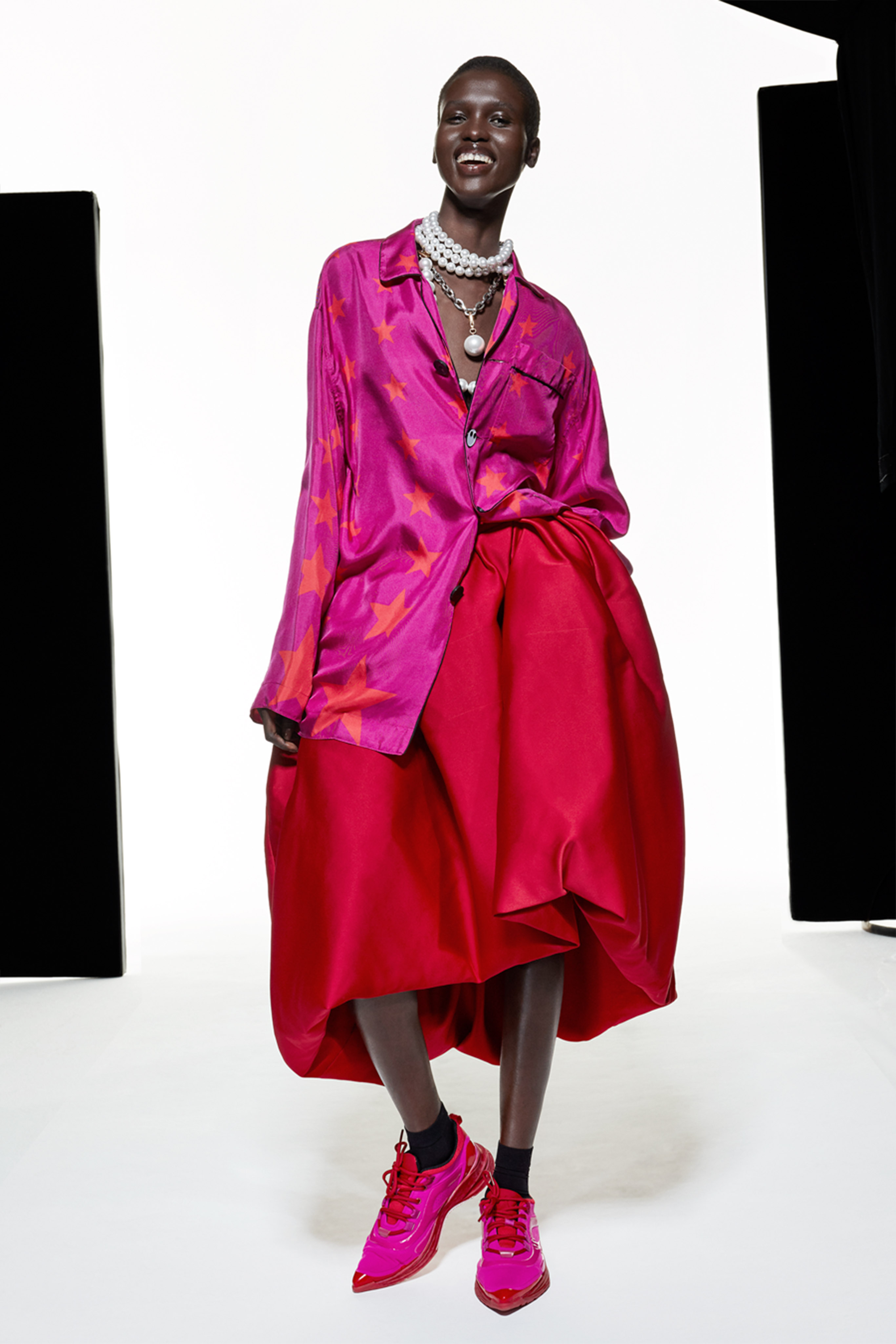 A look from AZ Factory Spring 2021
