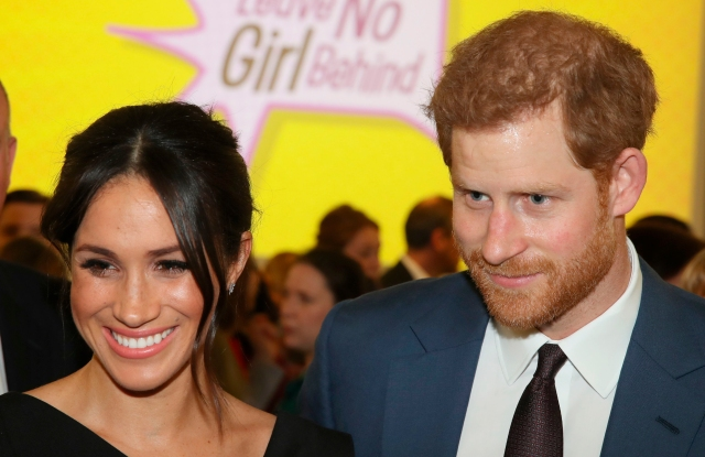 Duke and Duchess of Sussex podcasts. File photo dated 19/04/18 of the Duke and Duchess of Sussex, who have signed a multi-year deal with audio streaming service Spotify to host and produce podcasts. Issue date: Tuesday December 15, 2020. Harry and Meghan's new audio production company Archewell Audio has gone into partnership with Spotify for an undisclosed sum but likely to be worth tens of millions. See PA story ROYAL Sussex. Photo credit should read: Chris Jackson/PA Wire URN:57123597 (Press Association via AP Images)