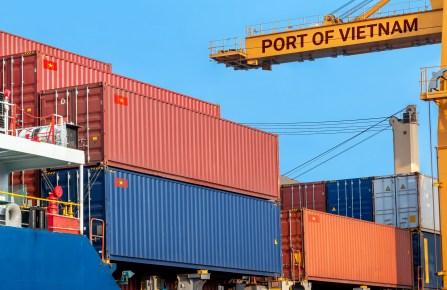 vietnam port container crain