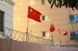 xinjiang chinese flag