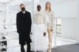 Matthew Williams with looks from his Alyx Men's Fall 2021 collection.