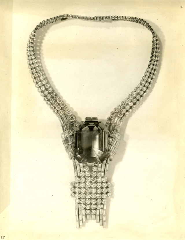 Tiffany's original World's Fair necklace from 1939.