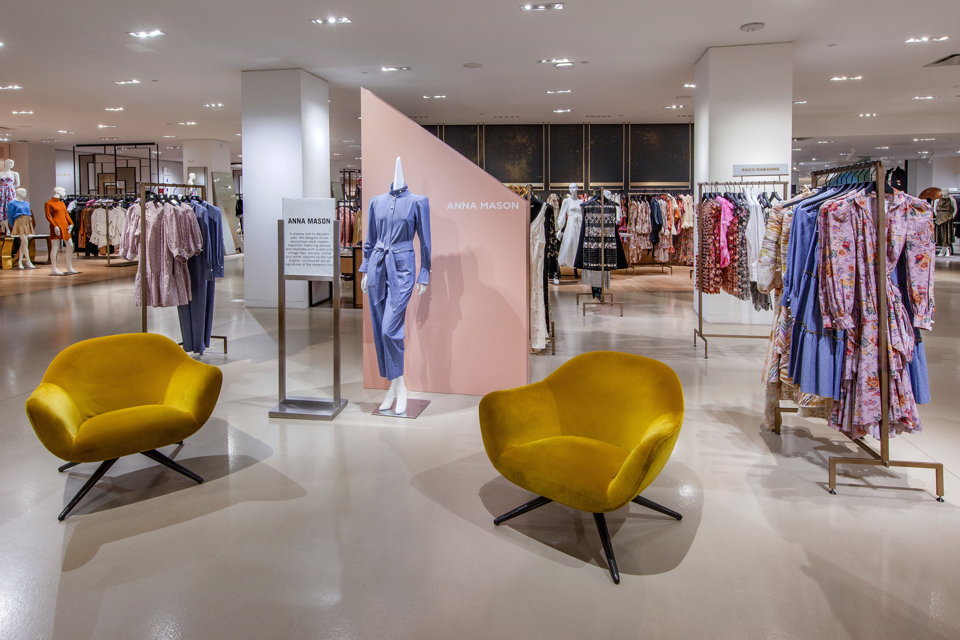"""A look at the """"Barneys at Saks"""" department at Saks Fifth Ave. in New York."""