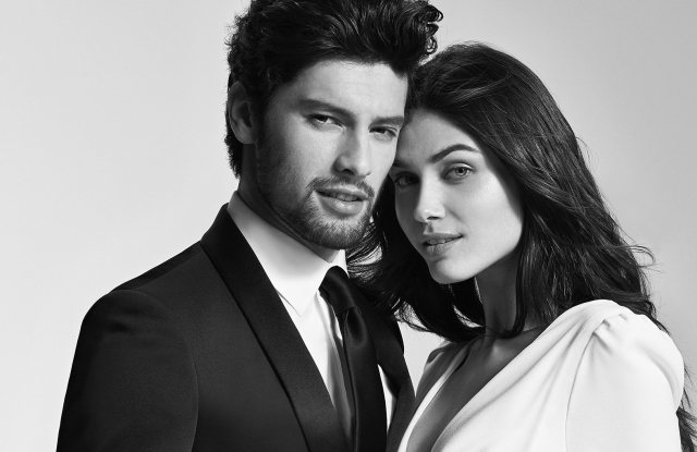 A preview look at the Carlo Pignatelli for Pronovias groomswear collection.