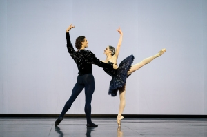 Hugo Marchand and Valentine Colasante