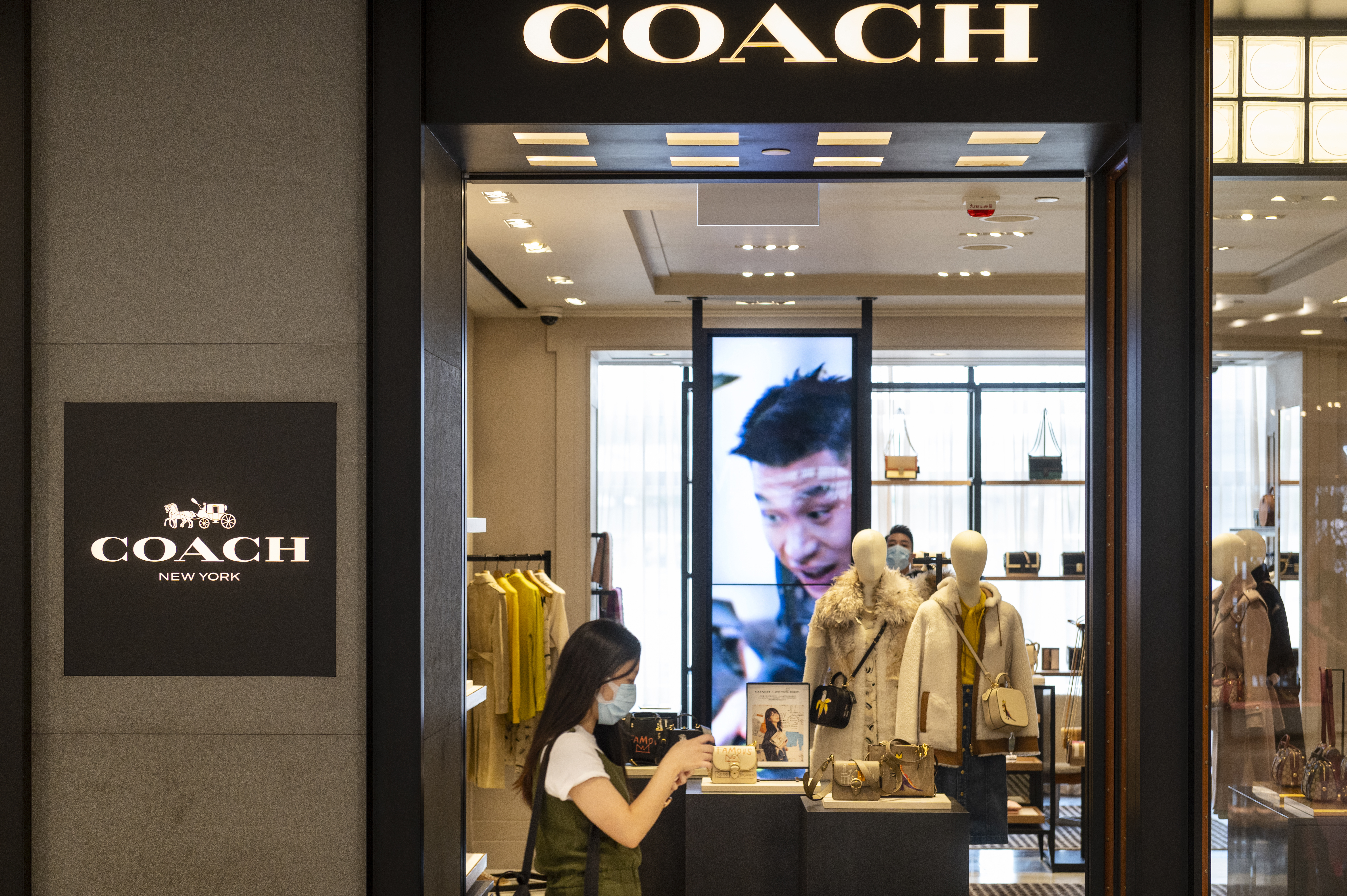 Coach store Tapestry