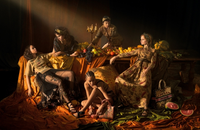 The Dior spring 2021 ad campaign.