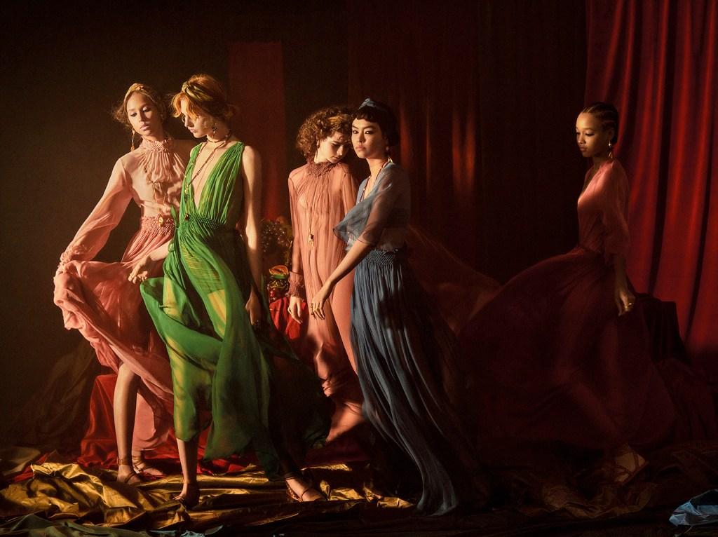 Dior's spring 2021 ad campaign.