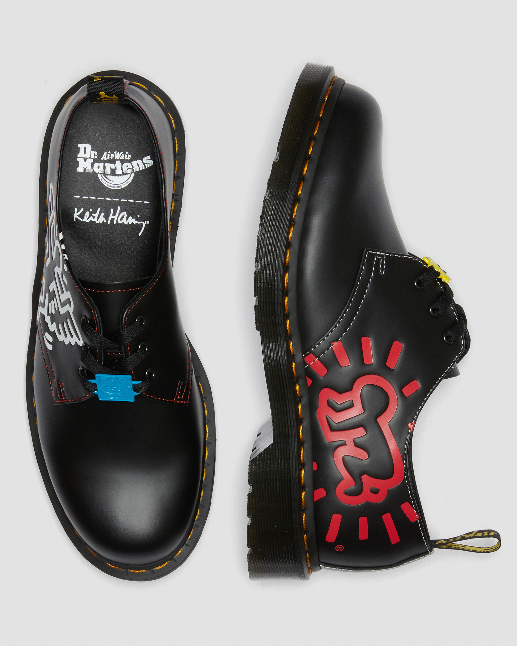 28 Unisex Valentine's Day Gifts: Dr. Martens x Keith Herring 1461 SMOOTH LEATHER OXFORD SHOES