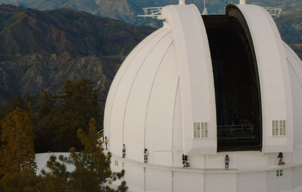 Reese Cooper fall 2021 took place at Southern California's Mt. Wilson Observatory.