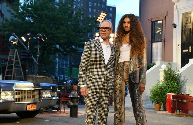 Tommy Hilfiger and Zendaya