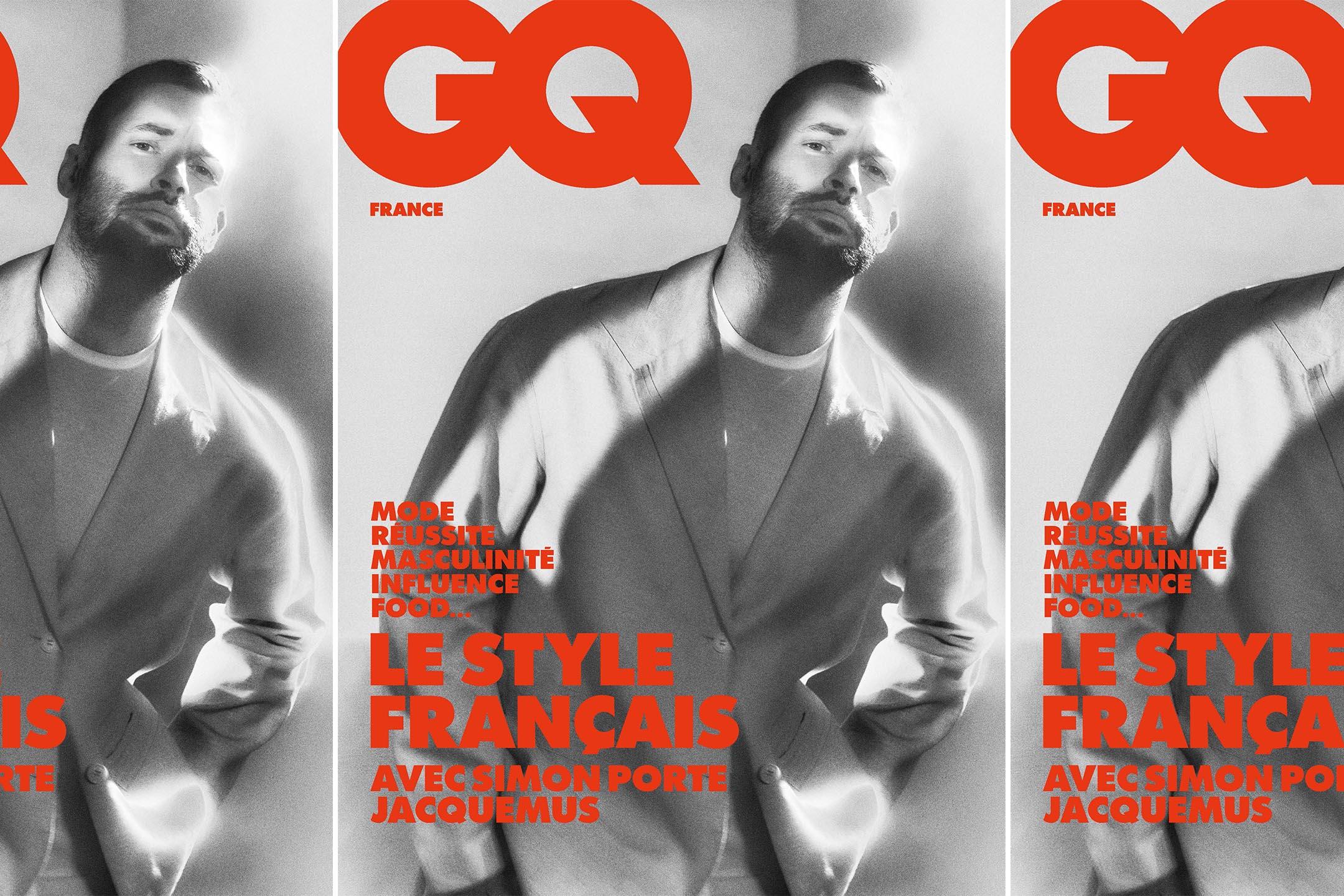 Simone Porte Jacquemus on GQ France's February 2021 cover.