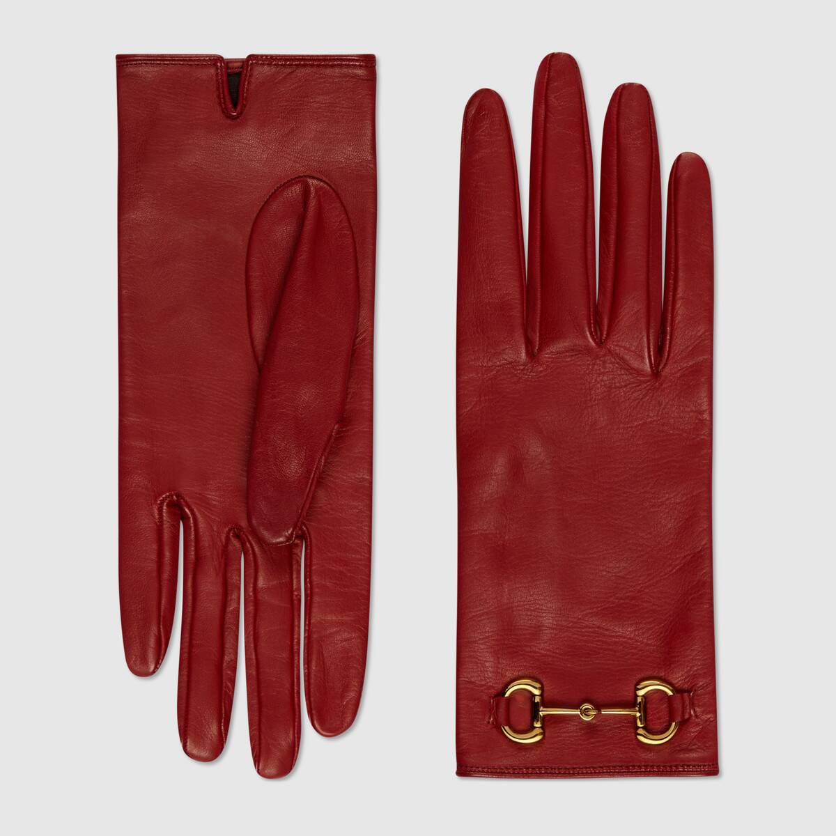 Inauguration Fashion 2021: Gucci red driving gloves $590