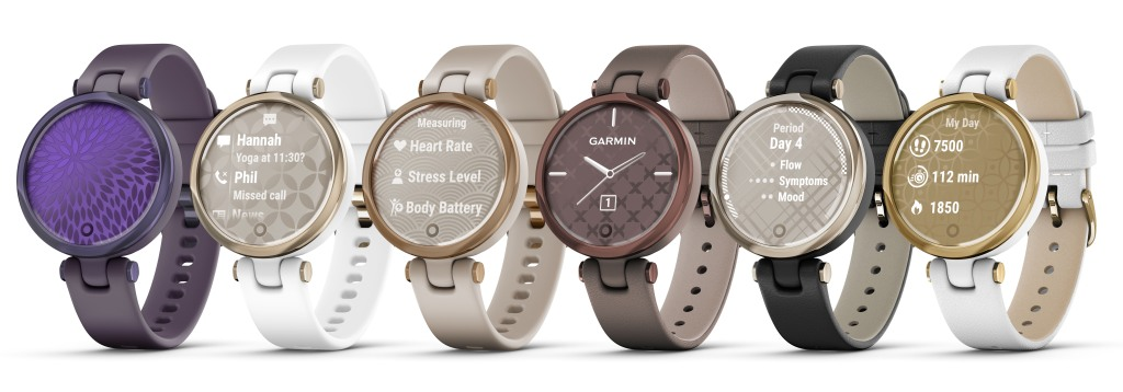 Garmin's line of the Lily smartwatch.