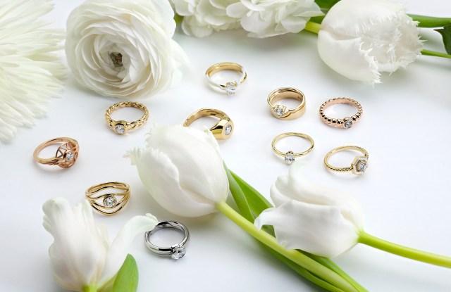 De Beers' Ten/ten collection by independent jewelry designers.