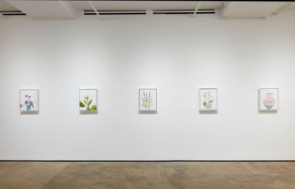Installation view of Hugo McCloud:Burdenedat Sean Kelly, New York January 22 – February 27, 2021 Photography: Jason Wyche, New York