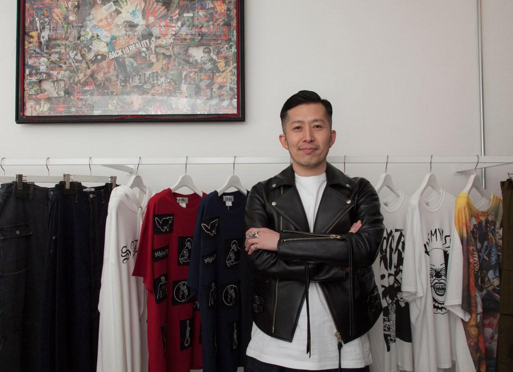 Kidill designer Hiroaki Sueyasu.