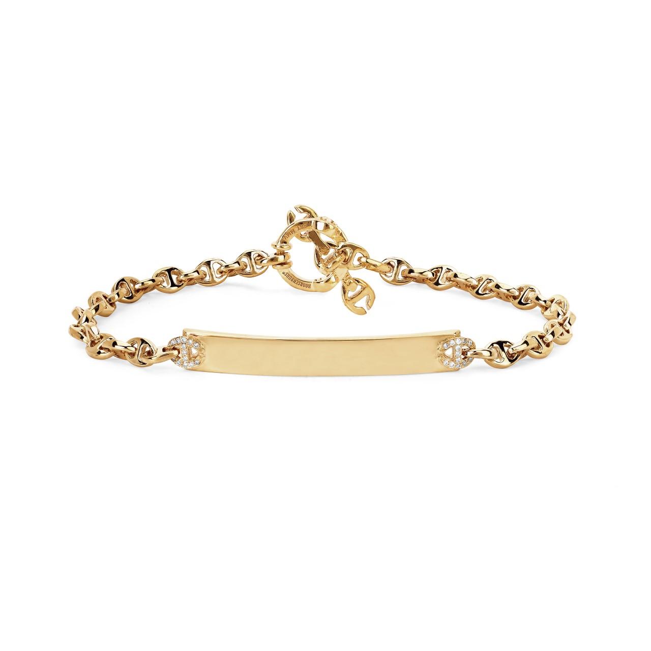 28 Unisex Valentine's Day Gifts: Hoorsenbuhs 3MM Open-Link Monogram Bracelet