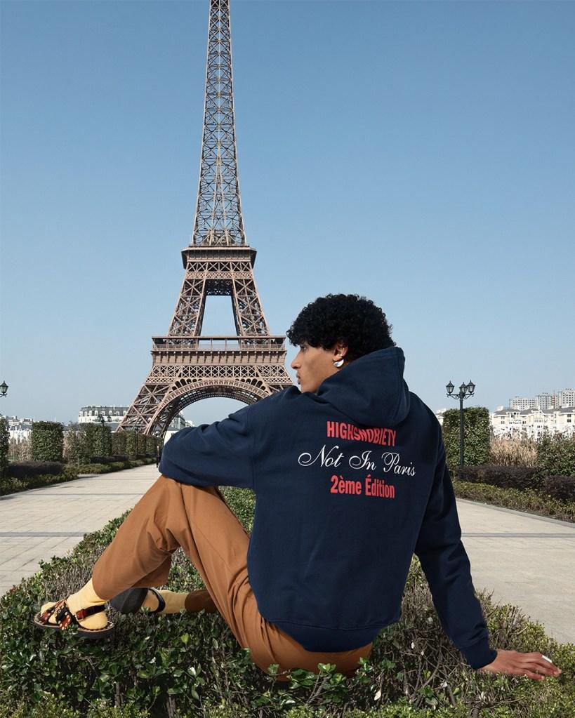"Highsnobiety ""Not in Paris II"" merchandise collection"