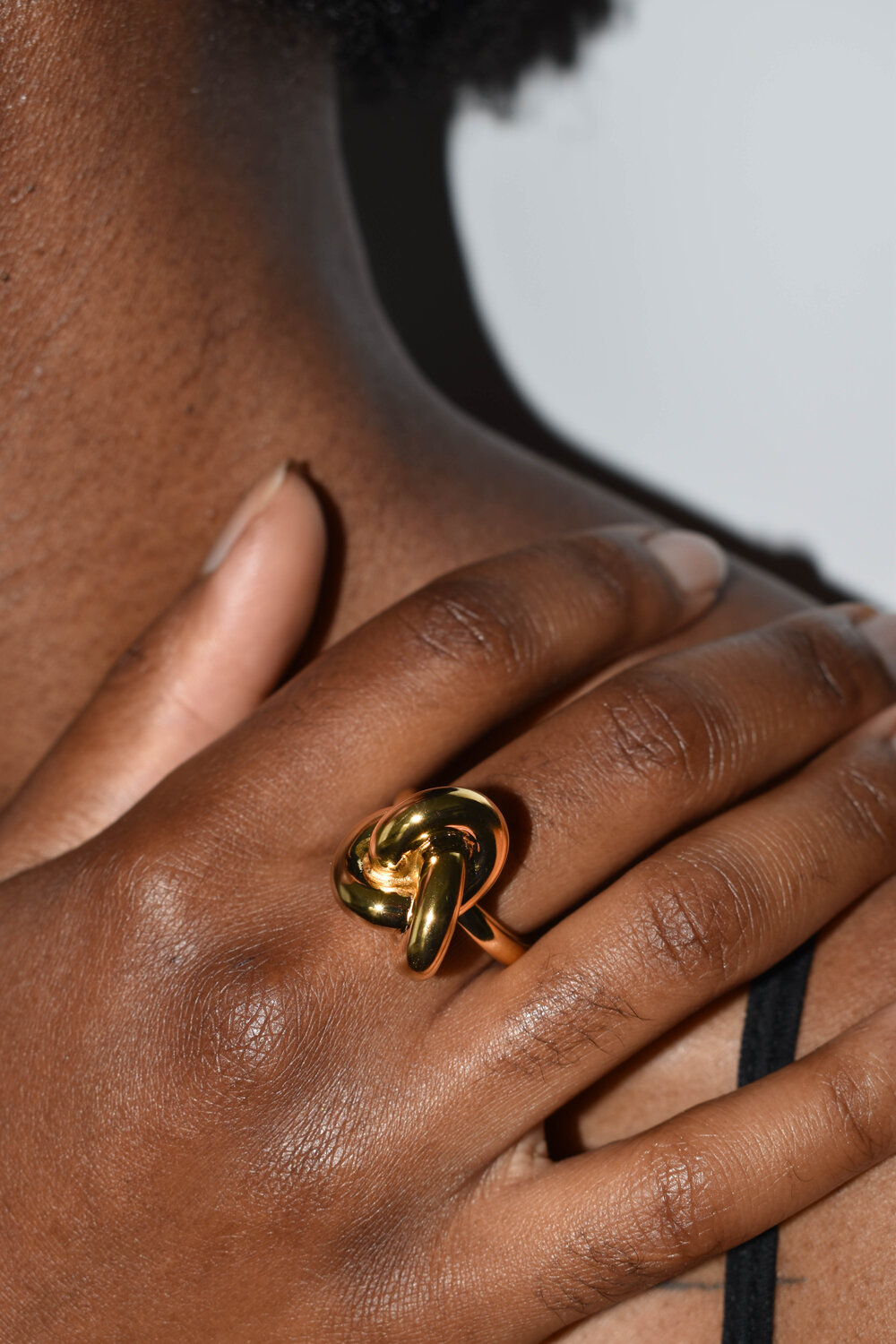 Devon Knot ring from Ben Oni jewelry