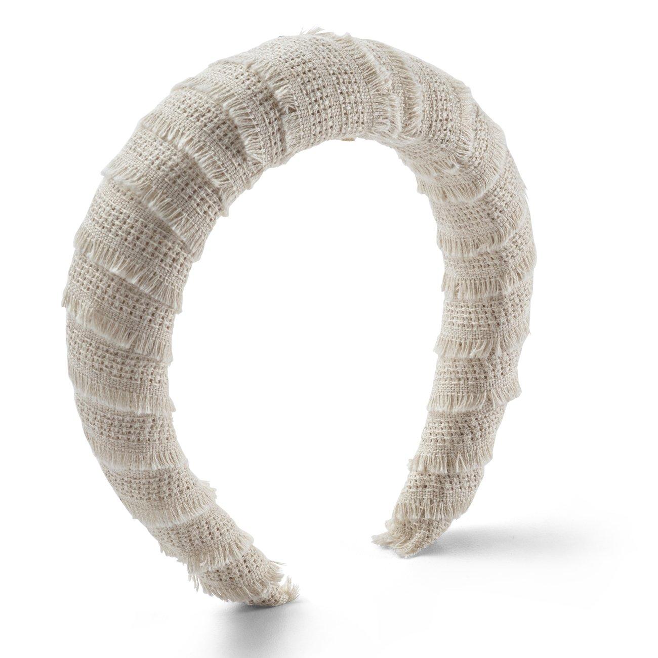 Inauguration Fashion 2021: Lelet NY croissant headband, $168