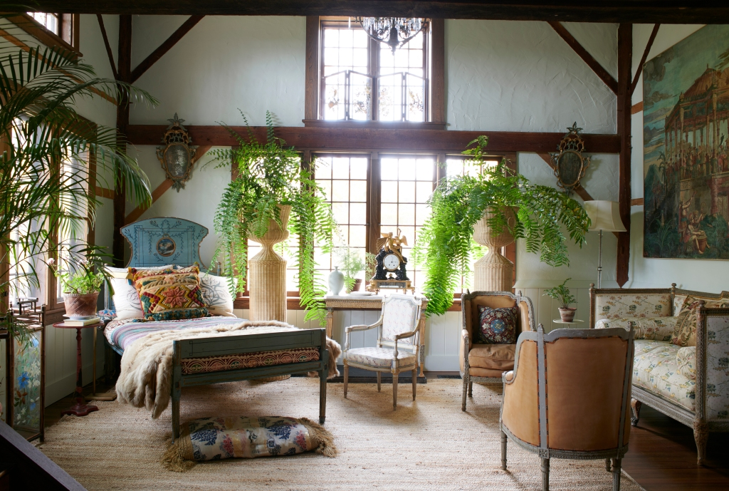 An Image from Chairish's home tour of Adam Lippes' Berkshires Home