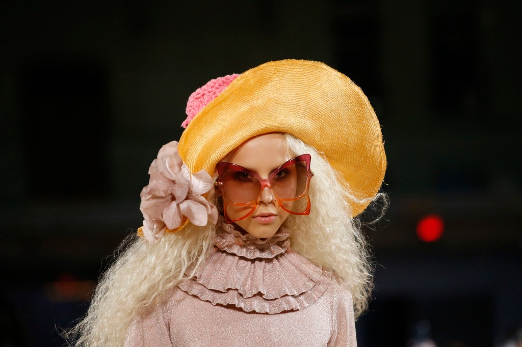 Sunglasses from Marc Jacobs' spring 2020 collection.