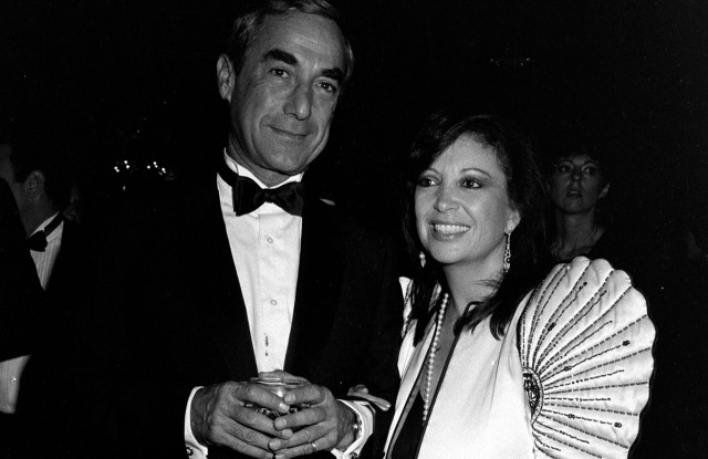 Marvin Chanin and Dottie Chanin attend the American Jewish Committee dinner honoring retailer Steven Gordon at the Beverly Wilshire Hotel on October 14, 1983. Steven Gordon, president of Tomboy, received the annual Civic Leadership Award from the AJC Institute of Human Relations