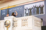 Mytheresa executives at the new york stock exchange virtually