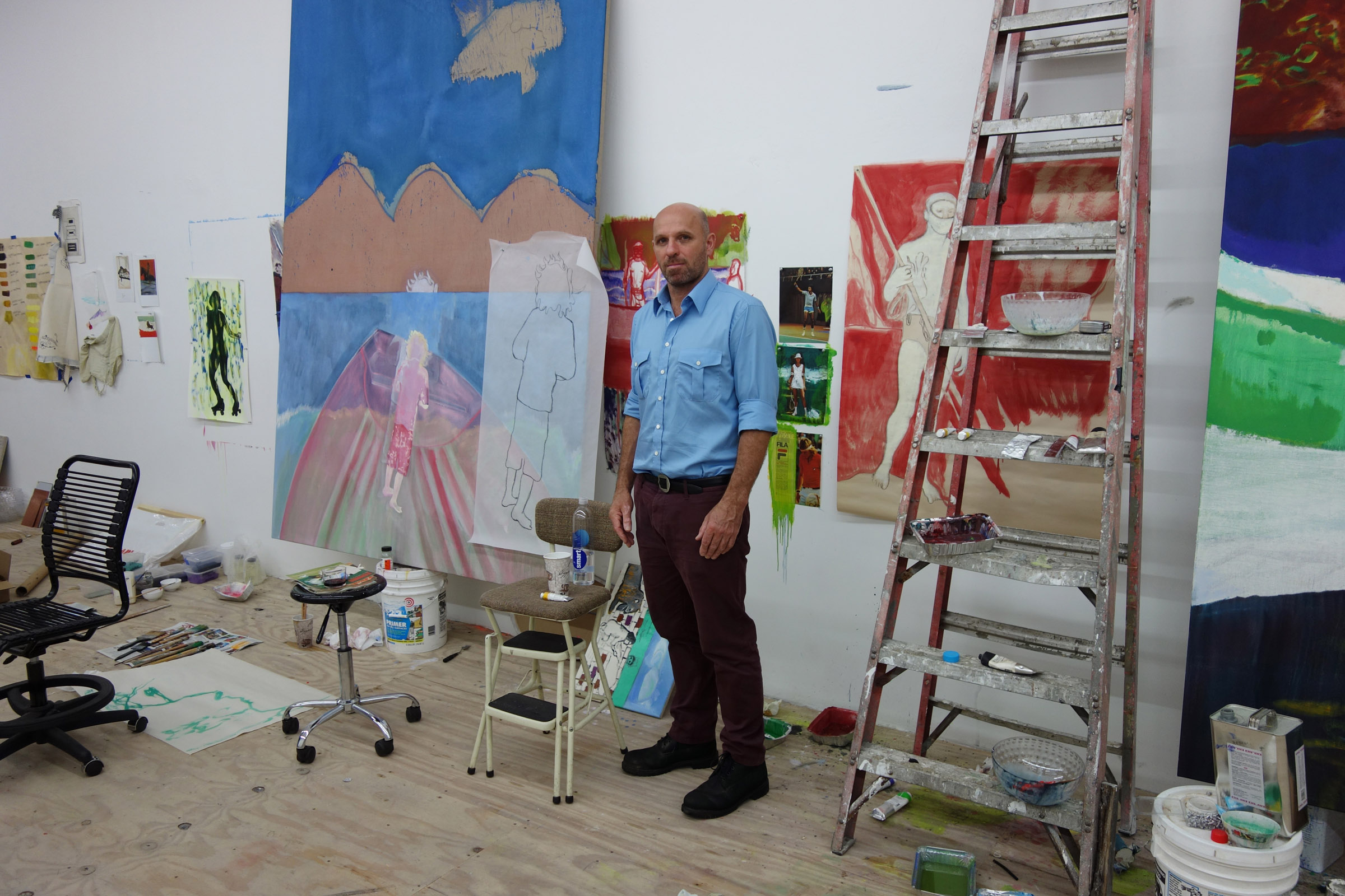 Peter Doig portrait