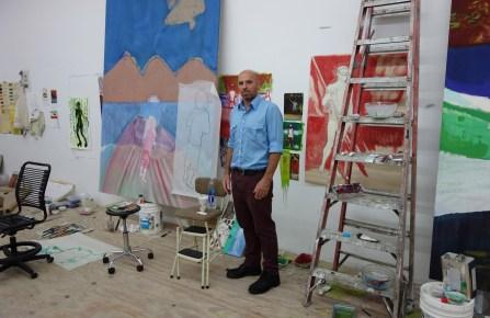 Peter Doig portrait