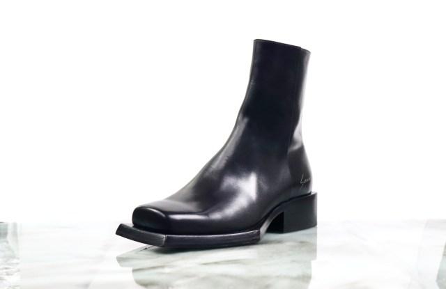Sunni Sunni reese square toed boot