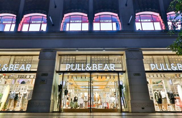 Pull&Bear store in Shanghai