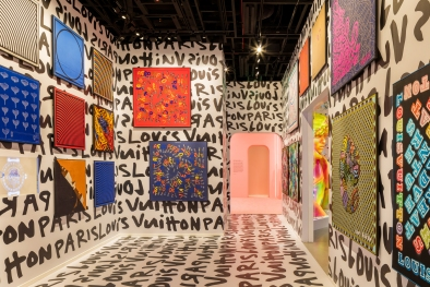 "Silks are to be displayed in one room of the ""Louis Vuitton &"" exhibition."